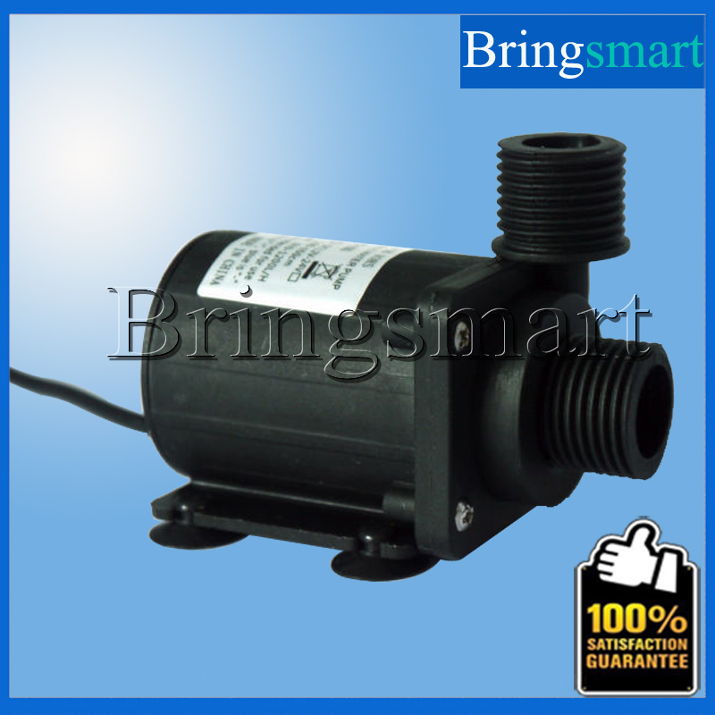 ФОТО JT-800B 4 Point Screw Thread Whorl 1000L/H 7.5M 12V 24V DC Brushless Water Pump  Water Heater Booster Pump With Flow Switch
