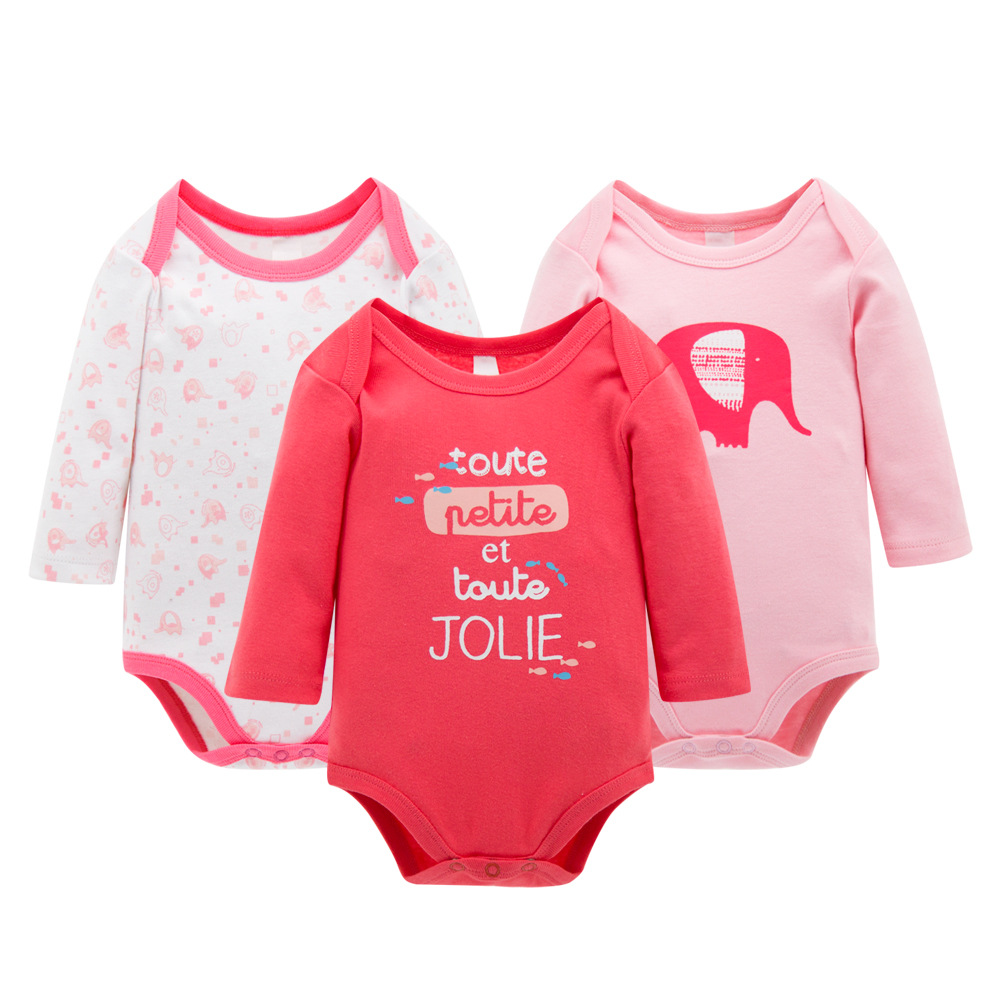 Baby Romper Long Sleeves Clothing Childrens Bodie Body Suit Newborn Long Sleeve Kids Boys Girls Rompers Baby Clothes Infantil