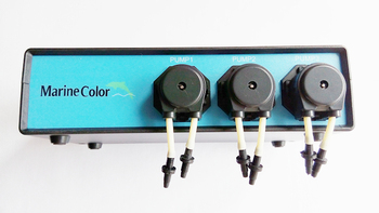 marine color MCD-3-S slave pump,working with the MCD-3-M,3 pumpheads dosing pump