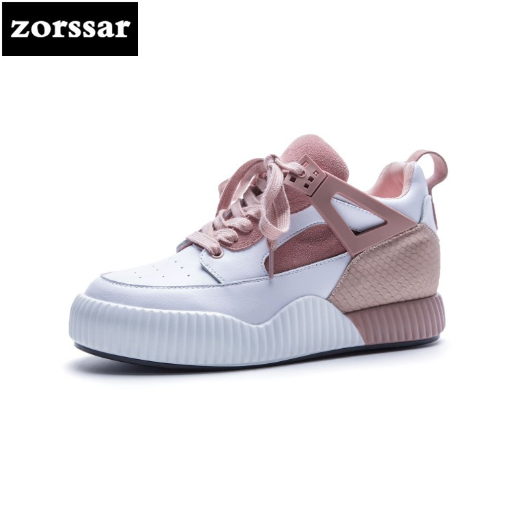 {Zorssar}2018 spring autumn fashion Large size women shoes High-Top casual flat sneakers shoes Comfort flats Female Travel shoes instantarts casual teen girls flats shoes appaloosa horse flower pattern women lace up sneakers fashion comfort mesh flat shoes