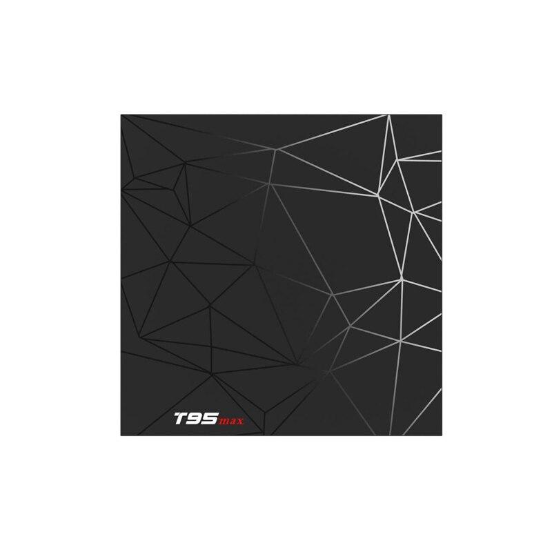 T95 MAX Android 9.0 TV BOX TV Inteligente Allwinner H6 4 GO DDR3 32 GO EMMC 2.4 GHz 5.8 GHz WiFi Bluetooth5.0 4 K Décodeur