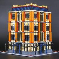 L модели Строительство Игрушка Совместимость с Lego L15016 7968 шт. Steet Moc блоки игрушки хобби для мальчиков и девочек Модель Строительство наборы
