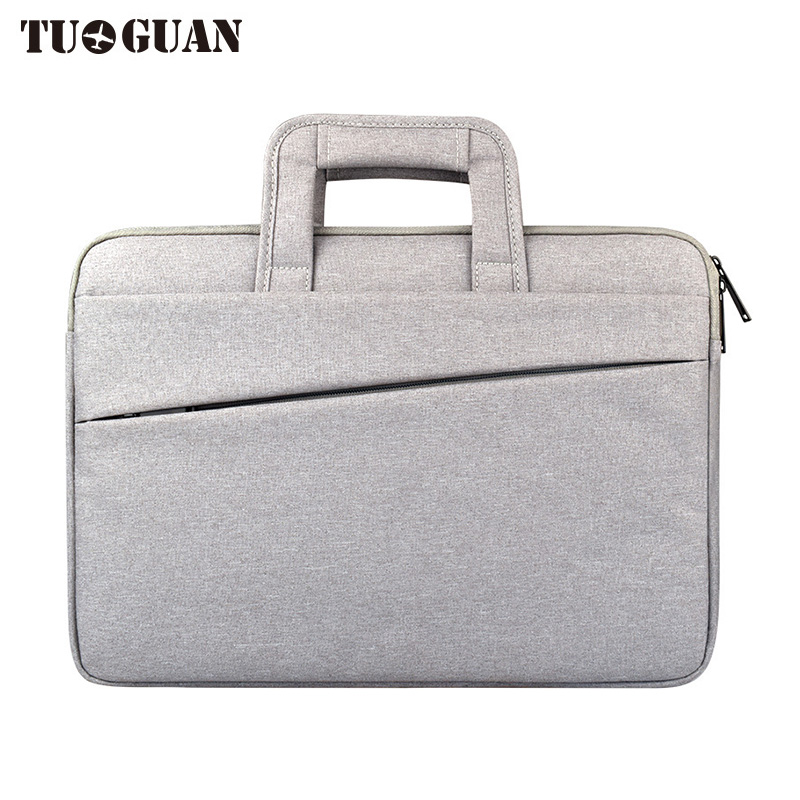 TUGUAN Men/Women Waterproof Scratch Proof Laptop Bags Portable Computer Case Briefcases Notebook Bag Air Pro By 12/11.6 Inches