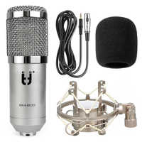 Ituf BM 800 Professional Condenser Microphone + Metal Shock Sound Recording microphone for Computer Karaoke KTV