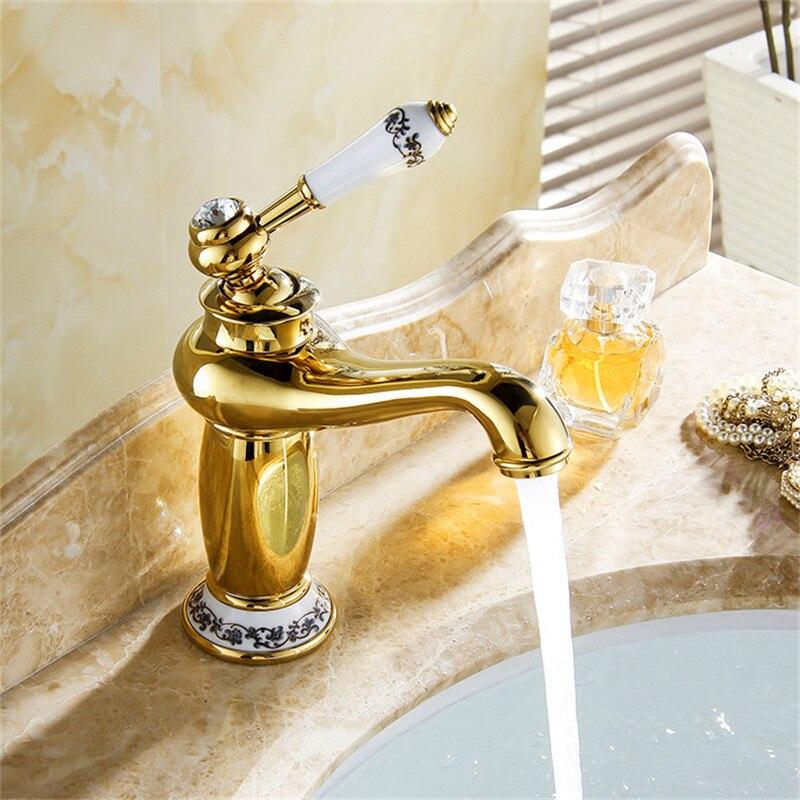 Basin Sink Faucet Water Mixer Water Tap Toneir Bath Faucet Brass Bathroom Mixer Tap Wash Basin Mixer Taps Bathroom Toneira M-16F