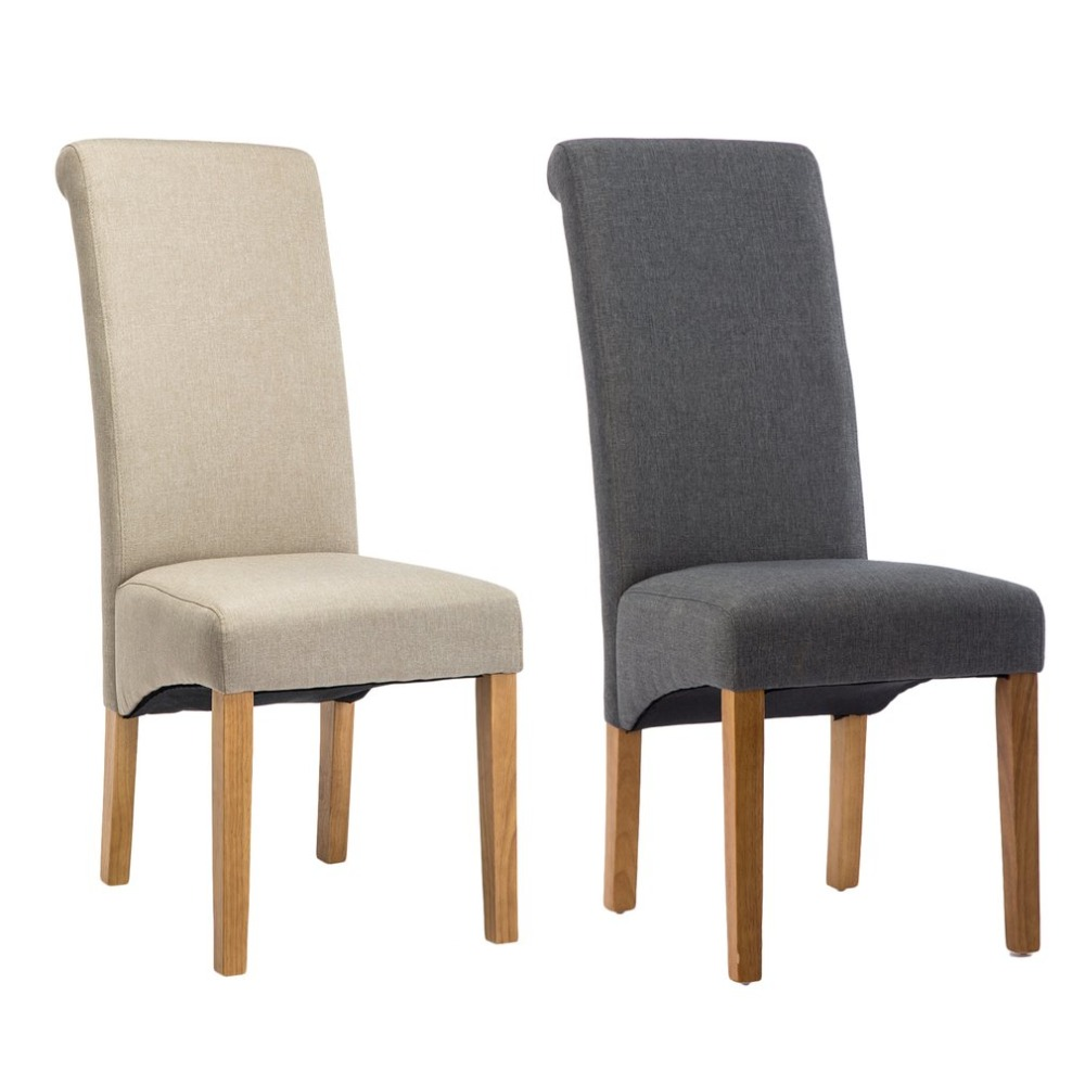2 PCS Modern Dining Chair High Back Springed Seat Kitchen Room Breakfast Chair Ergonomic Home Decorative Dining Room Furniture цена 2017