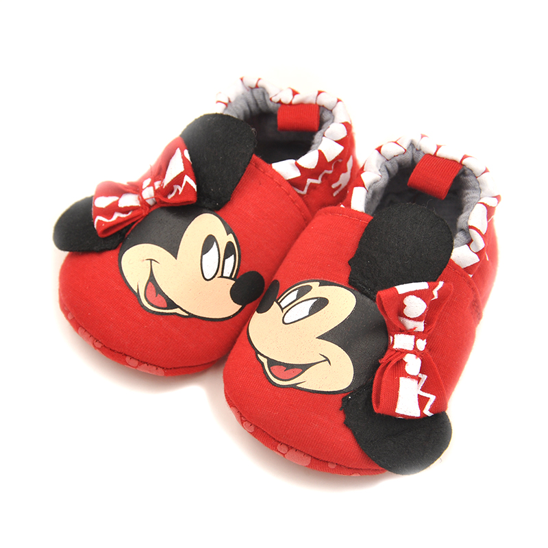 Cartoon Mickey Mouse Baby Shoes