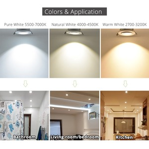 Image 5 - 50pc LED Downlight Spotlights LED lamp 3W 4W 5W Dimmable High Quality Upon Best Price light fixtures Free send by fastest DHL