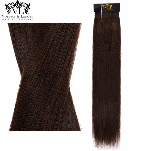 Vl Darkest Brown Professional Salon Hair Extensions 100 Remy