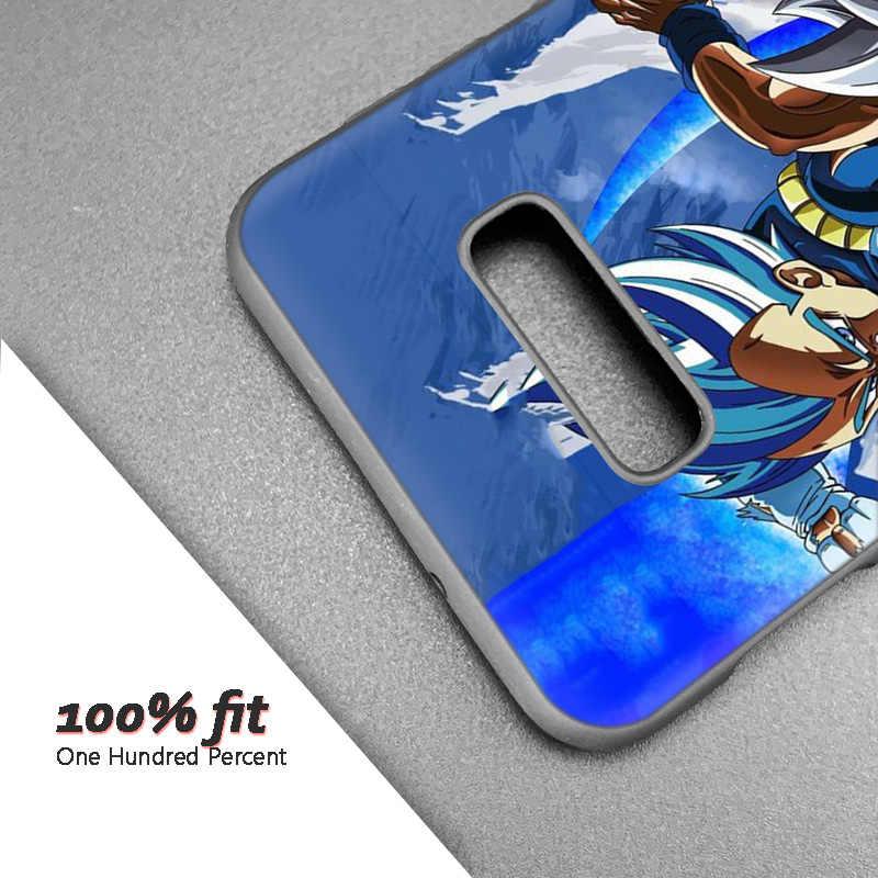 Silicone Trường Hợp Coque đối Với Samsung Galaxy S8 S9 S10 Cộng Với S10e 5G S6 S7 Cạnh S8 + S9 + s10 + Lưu Ý 8 9 Dragon Ball Goku Z Super Anime