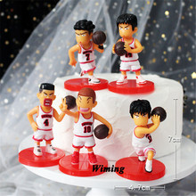 basketball player cupcake toppers hoopman cool novelty party gifts children kids baby boys toys for birthday cake topper