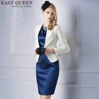Dames blazers rok pak vrouw office uniform ontwerpen vrouwen elegante rok past vrouw pak vrouwelijke blaiser AA2334 Y