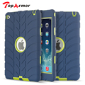 TopArmor For IPad mini4 Heavy duty Defender Armor Plastic + TPU Case Cover For Apple iPad mini 4 Tablet Shockproof Case