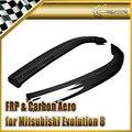Otomobiller ve Motosikletler'ten Tenteler ve Barınaklar'de Araba styling için Mitsubishi Evolution EVO 8 9 için karbon Fiber MR stil arka tampon uzatma