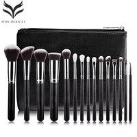 New Professional 15 PCS Makeup Brushes Set Tools Make Up Toiletry Kit Make Up Brush Set