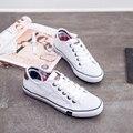 2015 Весна Лето Женщин моды случайные женские Ботинки холстины женщин плоские обувь Повседневная дышащий холст Белые туфли