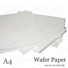 Wafer Paper for Cake Decoration,5x A4 210*297mm Edible Decoration,Customized Food Party Decoration