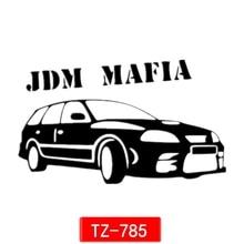 Three Ratels TZ-785 12*20cm 1-5 pieces reflective car sticker  jdm mafia for toyota caldina auto sticker car stickers removable