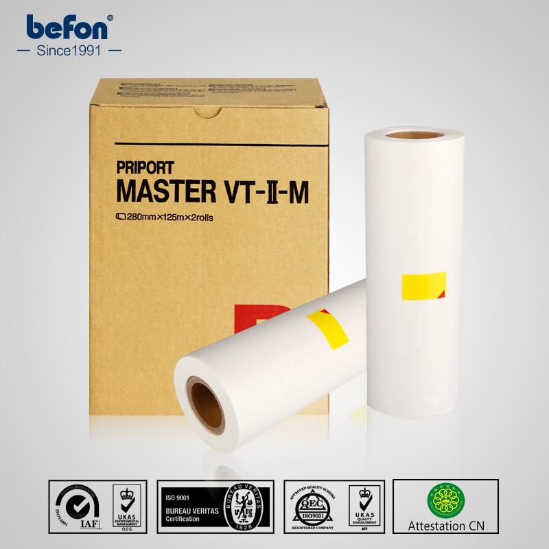 befon Master Roll VT B4 CPMT 9 Compatible with Ricoh VT1120 1220 1320 1580 2820 1650 2200 2250 2210 2950 2100 2150 2300 2500