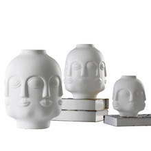 Home decoration accessories crafts Zen ceramic Buddha vase ornaments wedding decoration fairy garden miniatures Flower vase