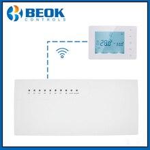 Thermostat Hub sans fil avec Thermostat CCT 10 X, contrôleur de moyeu, sous chambre pour chauffe eau à gaz BOT X306