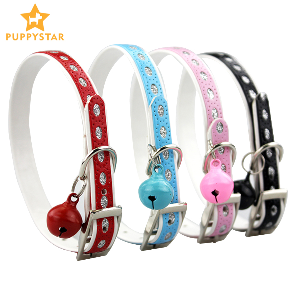 Name Cat Collar with Bell Pet Product for Small Dog and Kitten Reflective Puppy Collar in Cat Collars and Lead Dog Collar JW0008 image