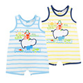 2016 Summer Newborn Baby Romper Baby Girls Clothes Cotton Cute Cartoon Romper Newborn Jumpsuits Ropa Bebe Baby Boy Clothes 6-24M