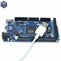 Free Shipping 5pcs Post For Due 2012 R3 ARM 32 Version Main Control Board USB CABLE