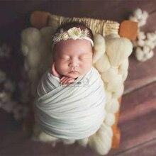 Accesorios de foto recién nacido cama de madera Estilo Vintage