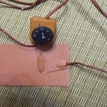 """"""" X 24""""(127*609 мм) 520 Вт 220 В Вт/термостат/контроллер 0~ 200C, гибкий силиконовый подогреватель, укулеле боковая изгиб тепла/тепловой одеяло"""