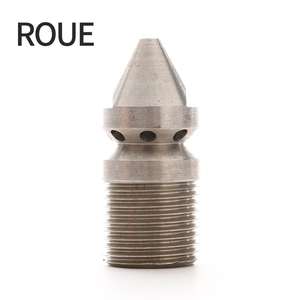 """Image 1 - ROUE Gs Riool Nozzle 1/4 """"Bsp 1 Vooruit 3 Terug Hogedrukreiniger"""
