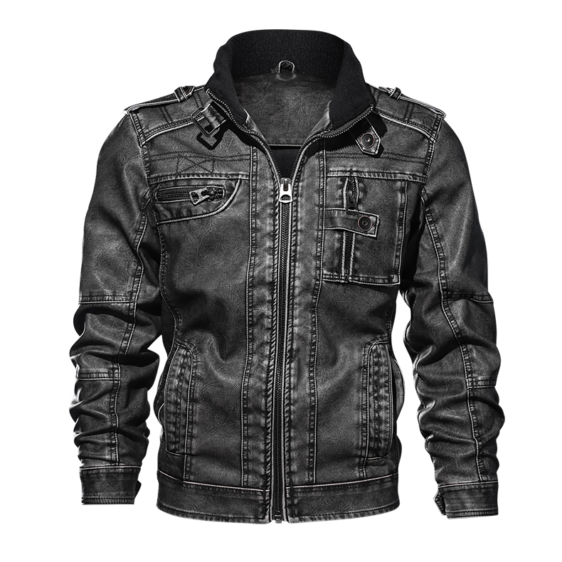 11  TACVASEN Males Tactical PU Leather-based Jacket Winter Army Bomber Jacket Slim Informal Jacket Autumn Motorbike Windbreaker Clothes HTB1rKlyiCMmBKNjSZTEq6ysKpXaL