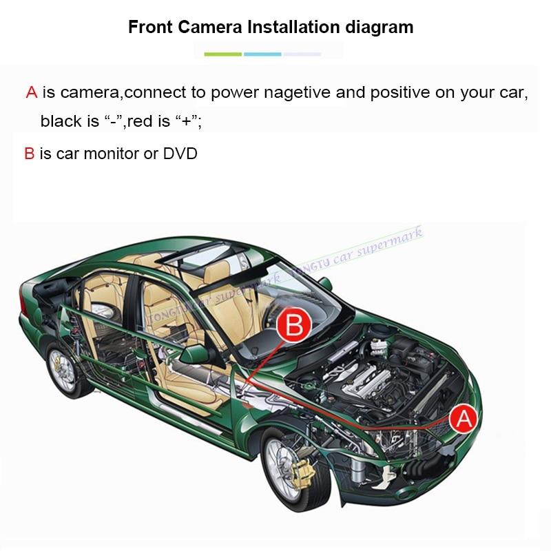 Image 5 - Широкоугольный CCD HD Автомобильный логотип марка камера для Benz Mercedes Vito Viano A B C E G GL SLK GLK SL R GLA ночного видения-in Камера для авто from Автомобили и мотоциклы on AliExpress - 11.11_Double 11_Singles' Day