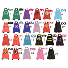 50 Kids Superhero capes   Double sides Satin Fabric super hero