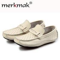 Mermak 2017 Men S Shoes Fashion Brand Genuine Leather Spring Autum Men Loafer Slip On Driving