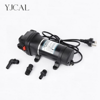 FL 41 220V 110V High Pressure Mini RV Yacht Family Water Self Priming Diaphragm Pump Reciprocating