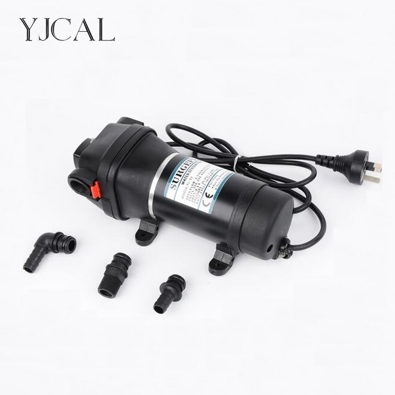 FL-41 220V 110V High Pressure Mini RV Yacht Family Water Self-priming Diaphragm Pump Reciprocating Filter Accessories Automatic brand new 1pcs pure water machine self priming pump water pp cotton filter 2 points home appliance parts
