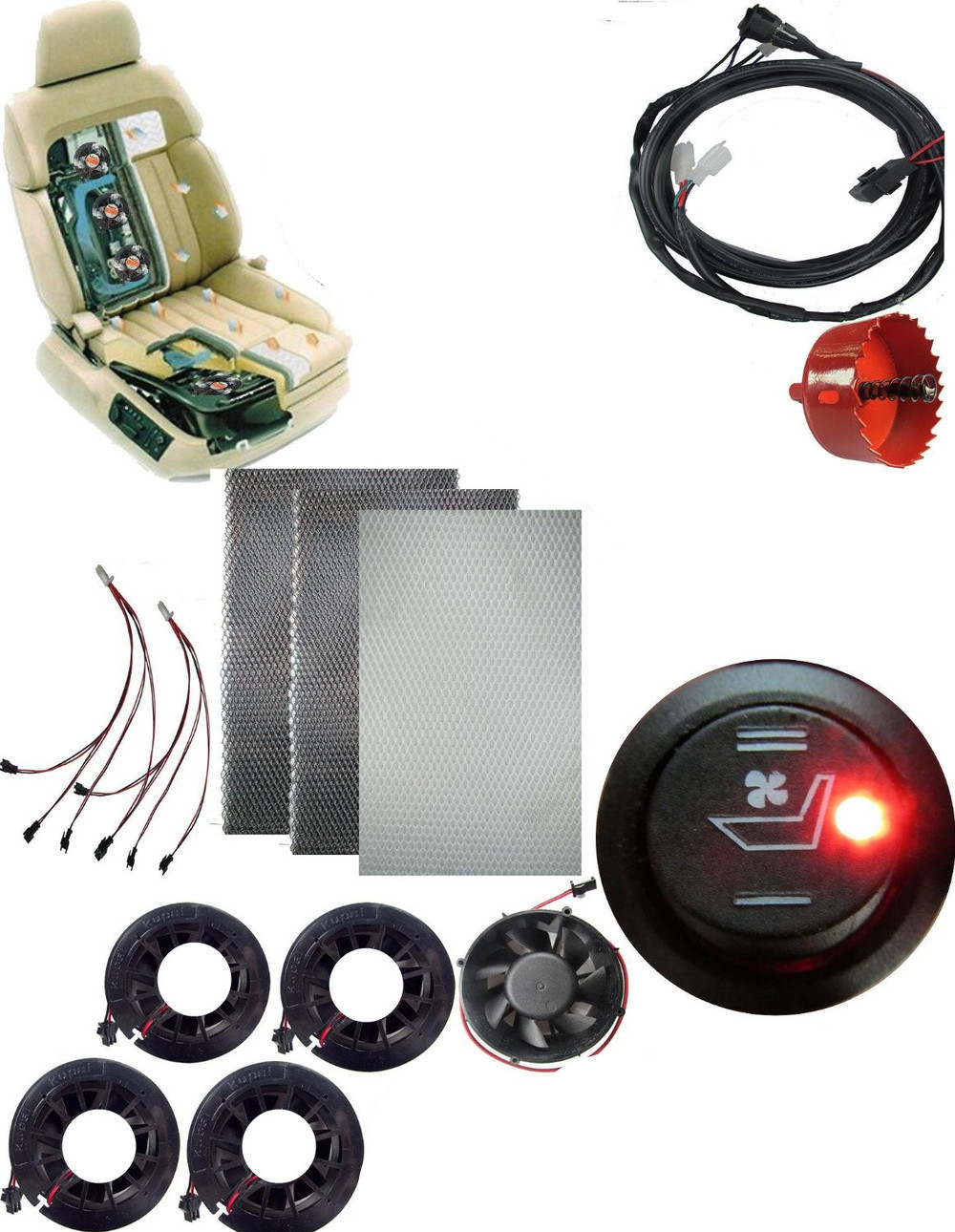 QINYI Yellow Turn Signal Function 12V Car DRL LED Daytime Running Light Fog Lamp For Hyundai