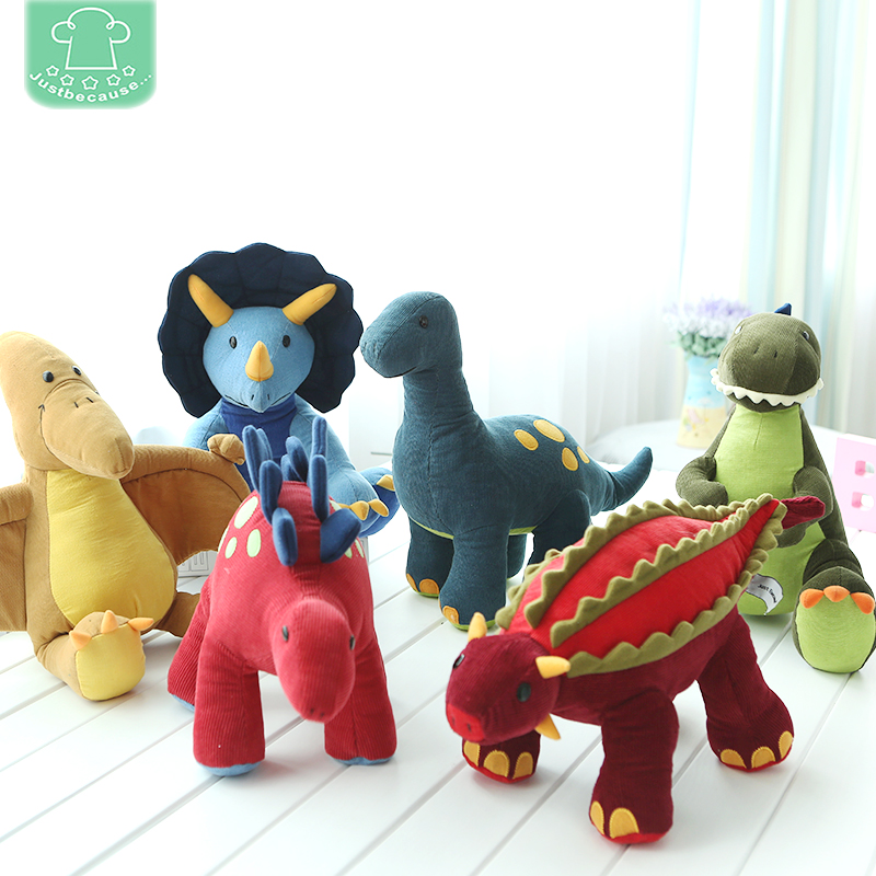 High Quality Dinosaur Soft and Stuffed Animal Plush Toys Boy gift