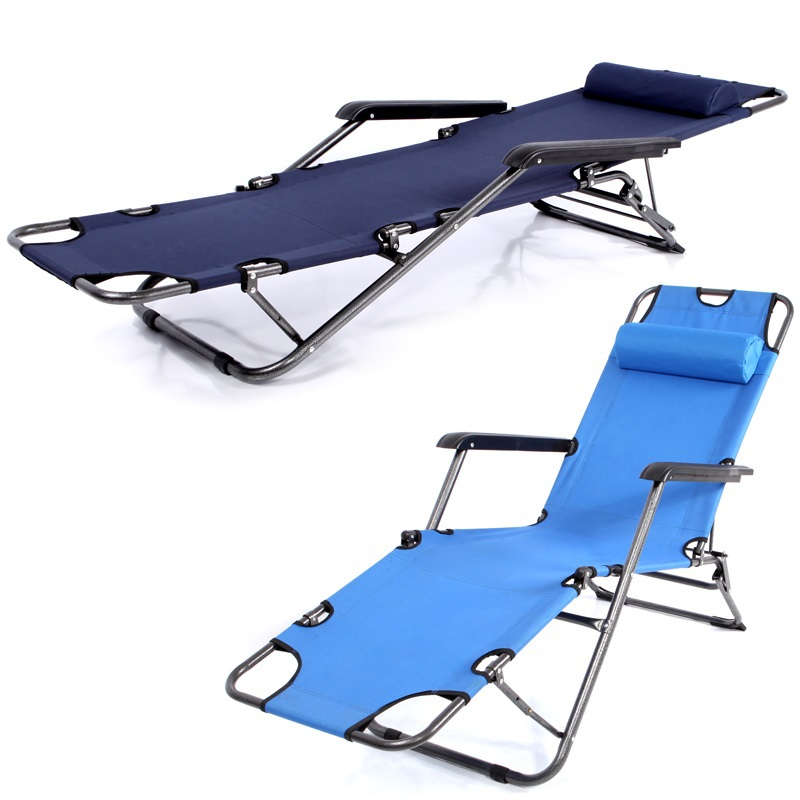 Enjoy Genuine Interest Folding Bed Office Lunch Nap Bed Recliner Chair  Folding Chair Beds Simple Beach Bed FREE SHIPPING In Sun Loungers From  Furniture On ...