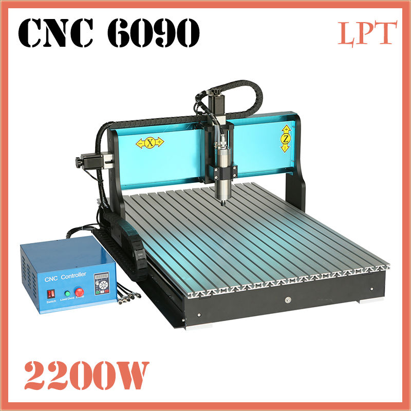 JFT Woodworking CNC Router 2200W 3 Axis Affordable CNC Router with Parallel Port Cheap Price Industrial Equipment 6090 jft new arrival high speed 4 axis 800w affordable cnc router with usb port precision drilling machine for woodworking 6090