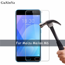 2pcs Tempered Glass For Meizu M6 Screen Protector Anti-scratch Meilan 6 M711H Protective Film