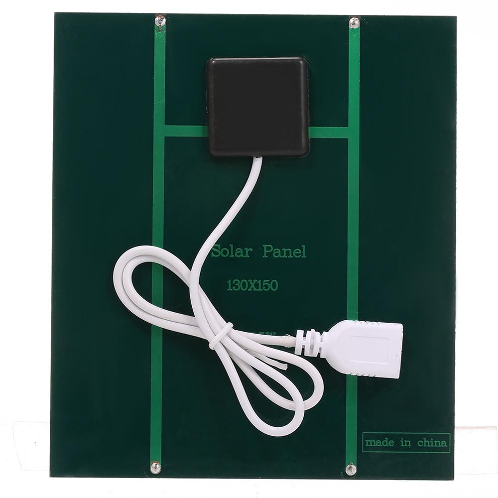 2.5w 5v 3.7v carregador solar portátil com