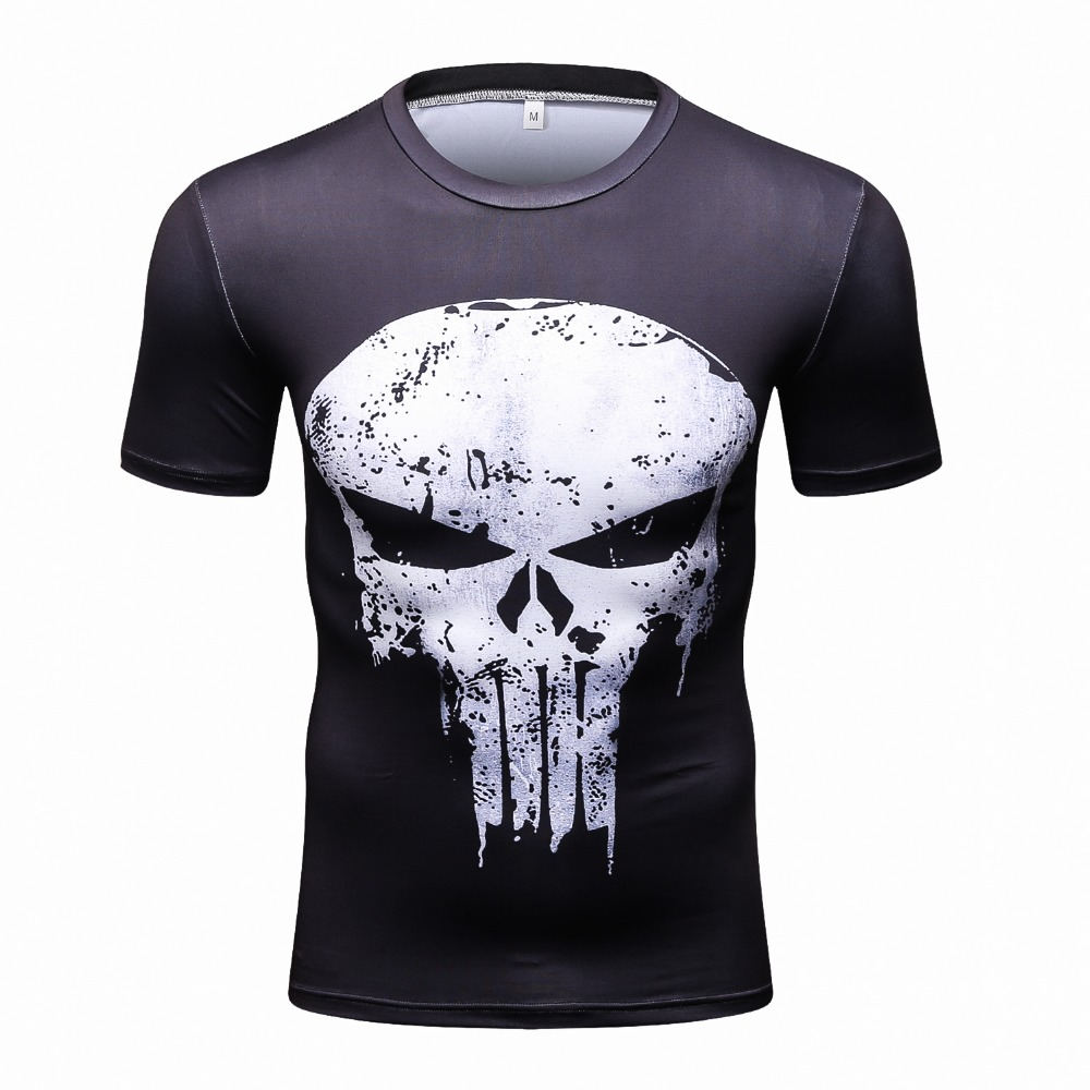 Compression shirts men 3d printed t shirts short sleeve for Compressed promotional t shirts