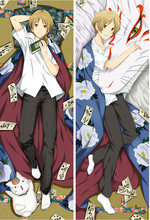 Japanese Anime Natsume Yuujinchou Characters  Dakimakura pillow cover case christmas gift anime cosplay pillowcase anime natsume yuujinchou cosplay 2017 new animation canvas bag casual backpack korean fashion students