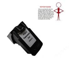 1 шт. Реконструированный Черный PG 510 PG-510 PG510 чернильный картридж для Canon PIXMA MP270 MP280 MP480 MP490 MP270 MX350 MX410 MP240