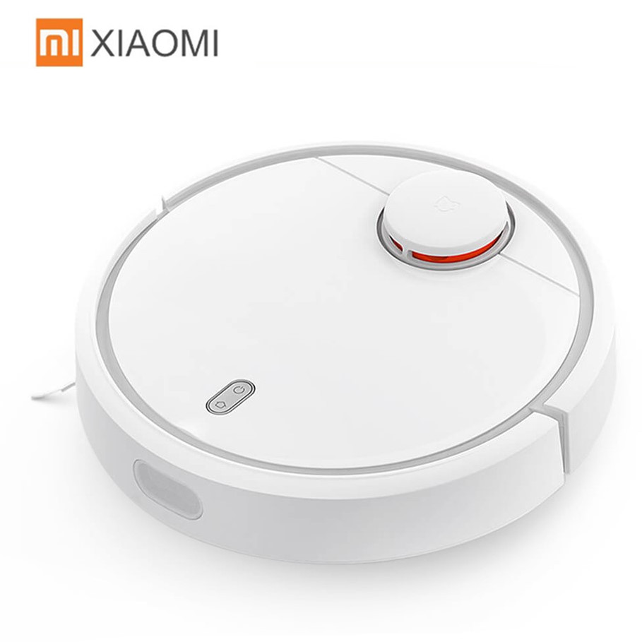 Original XIAOMI MI Robot Vacuum Cleaner Home Automatic Sweeping Dust Sterilize Smart Planned Mobile App Control Smart Automatic