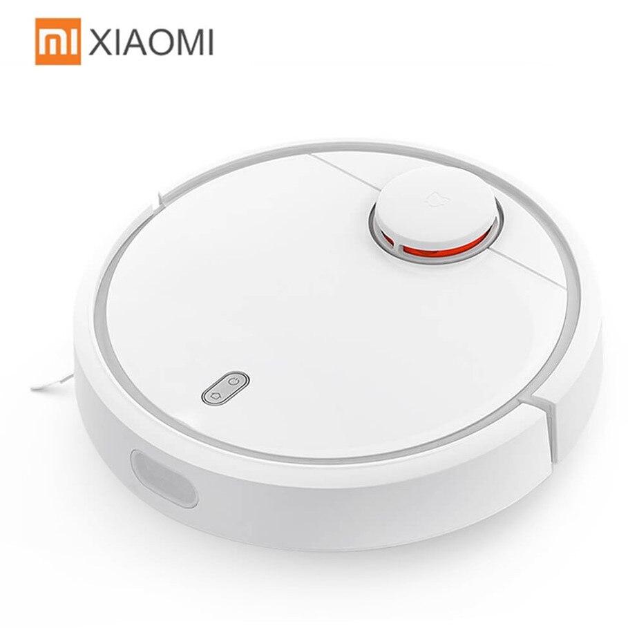 Original XIAOMI MI Robot aspirateur maison automatique balayage poussière stériliser intelligent planifié App contrôle intelligent automatique