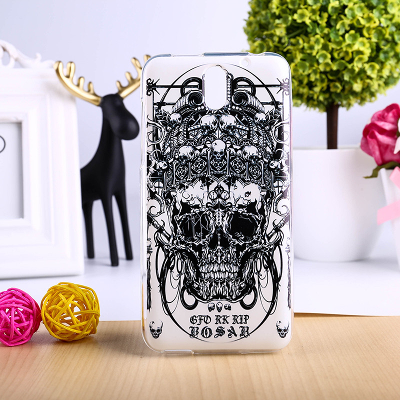 TAOYUNXI TPU & Plastic Phone Cover For HTC Desire 610 610t D610T Cases Colorful Deluxe Vintage Elegant Mobile Phone Parts