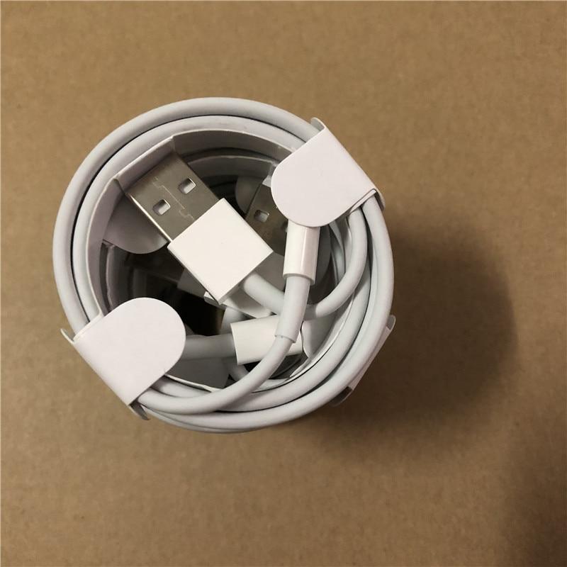 100 pz OD 3.0mm 1 M 3FT di Alta Qualità del Metallo Intrecciato USB di Sincronizzazione di Dati del Caricatore cavo Per il iphone 5 6 s 6 7 8 plus X con la scatola al minuto-in Accessori porta cellulare da Cellulari e telecomunicazioni su  Gruppo 1